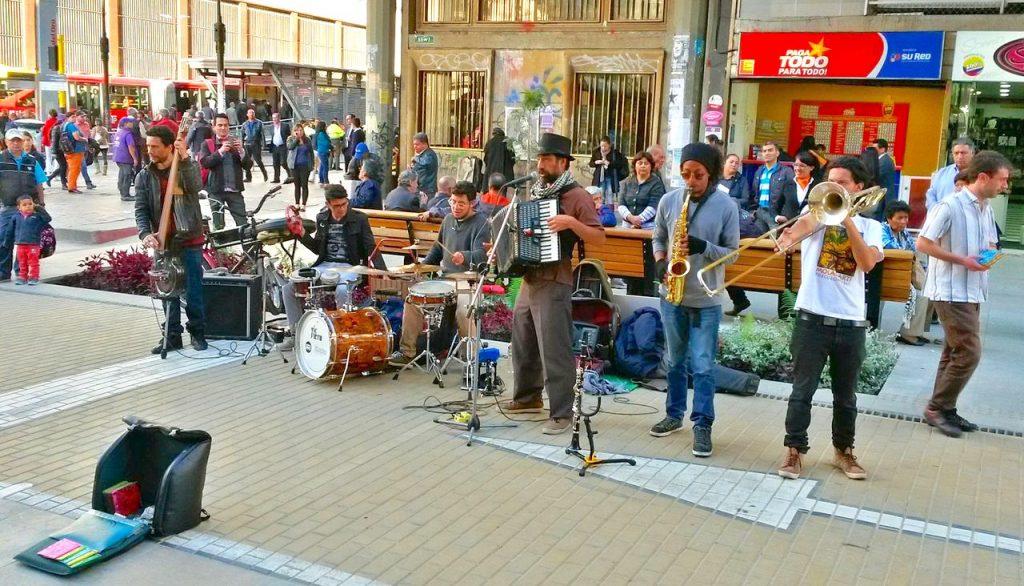Bogotá música callejera