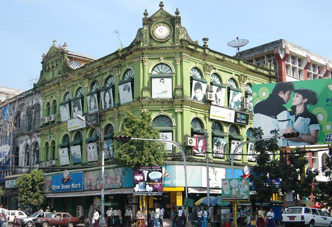 Yangon arquitectura colonial