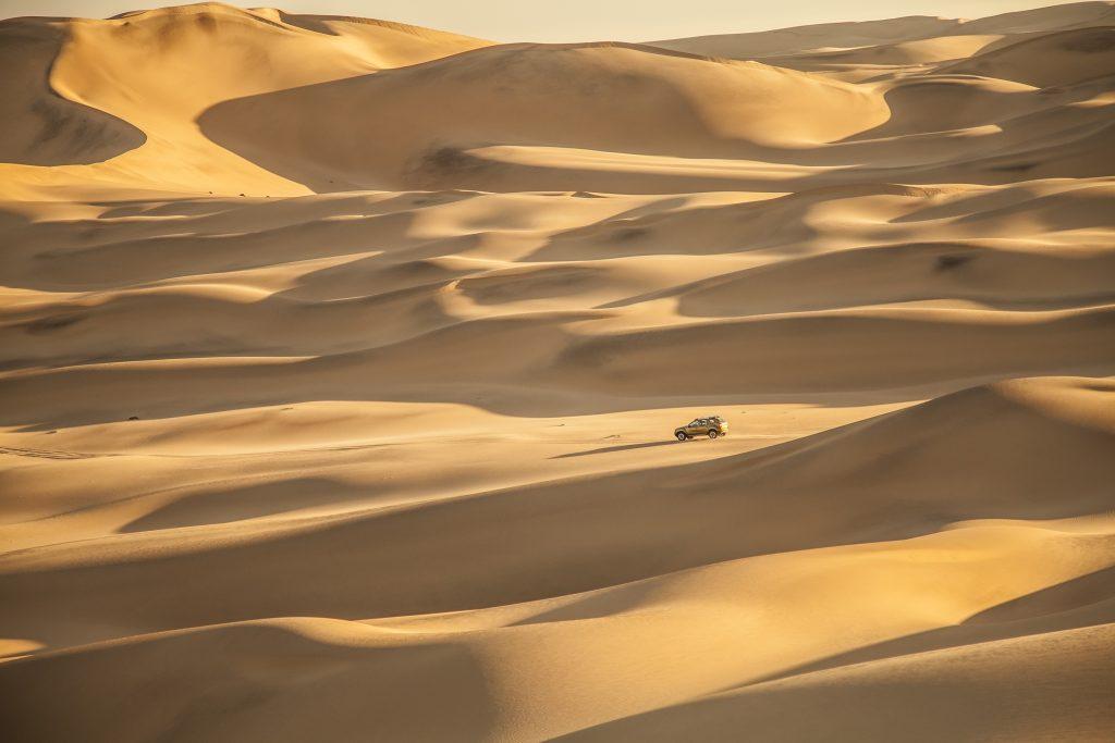 luna de miel en el desierto