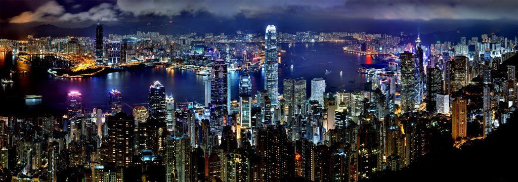 Honk Kong nocturno