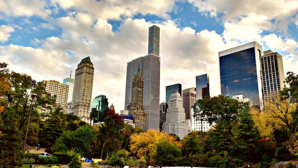 skyline Central Park