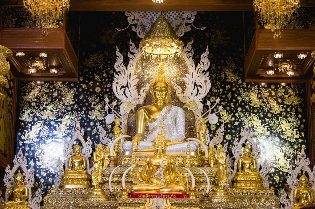 viaje a Tailandia Buda dorado