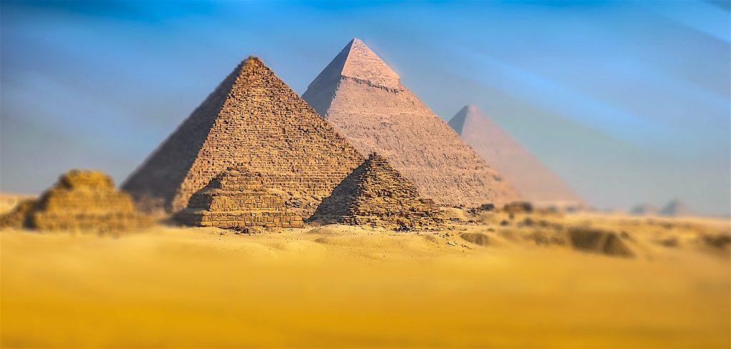 Pirámides de Ghiza