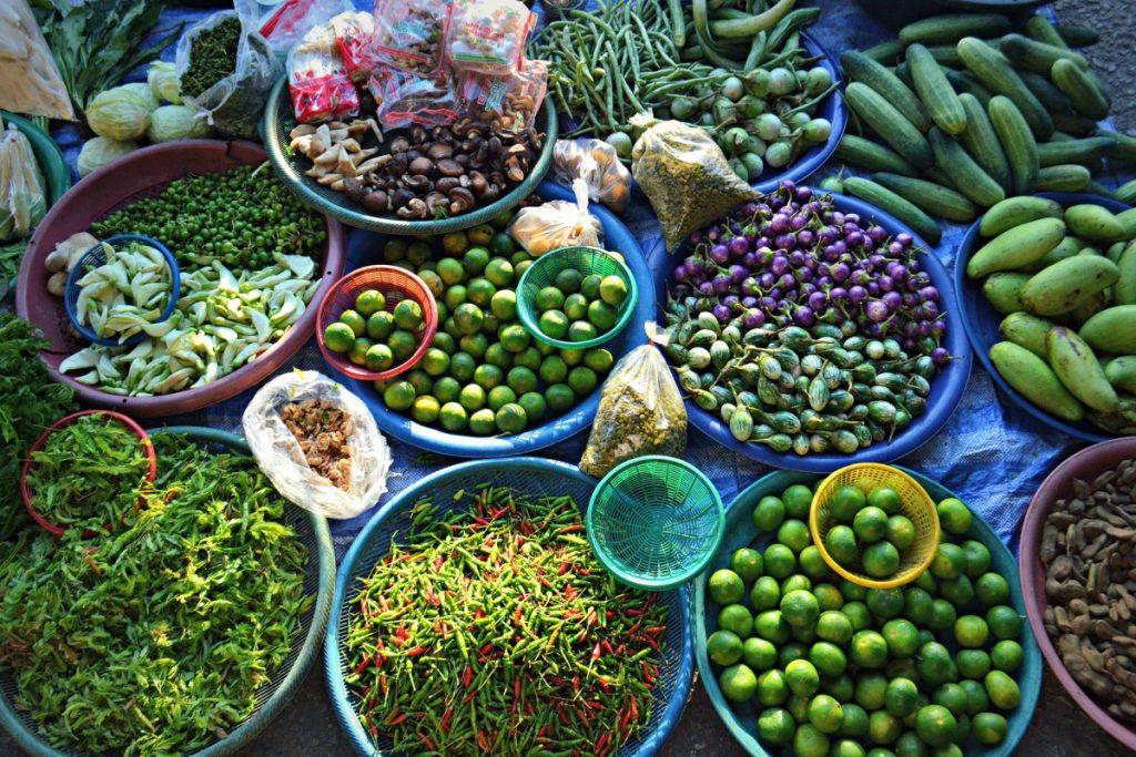 Tailandia verduras