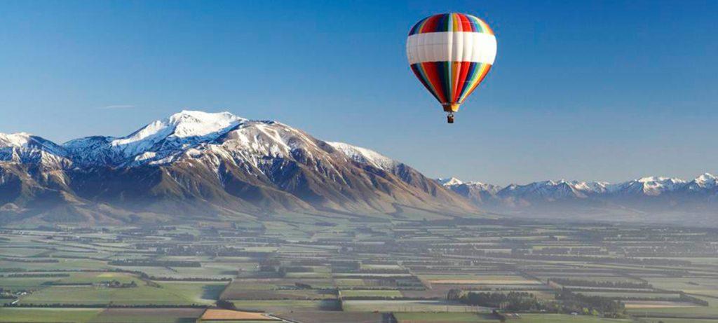 Monte Christchurch globo aerostático