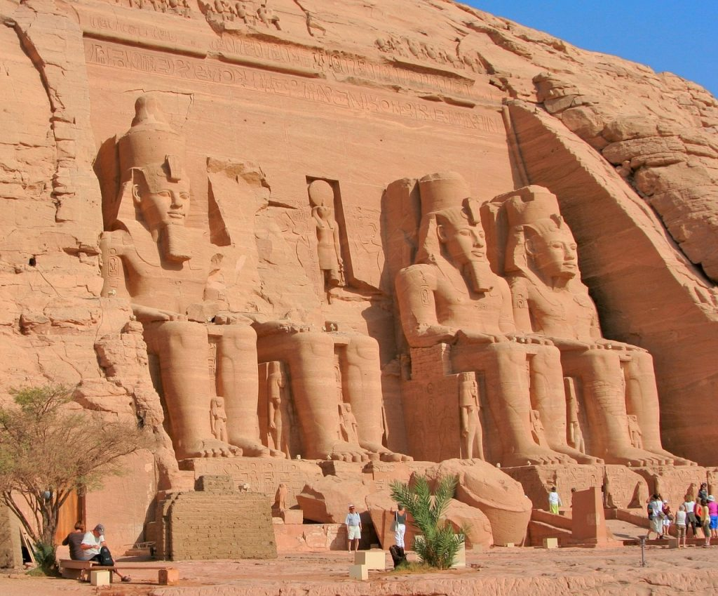 Crucero por el Nilo Abu-Simbel Egipto