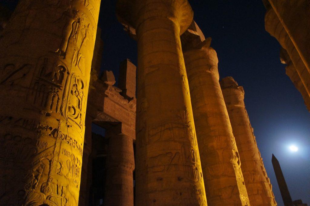 Templo en Egipto