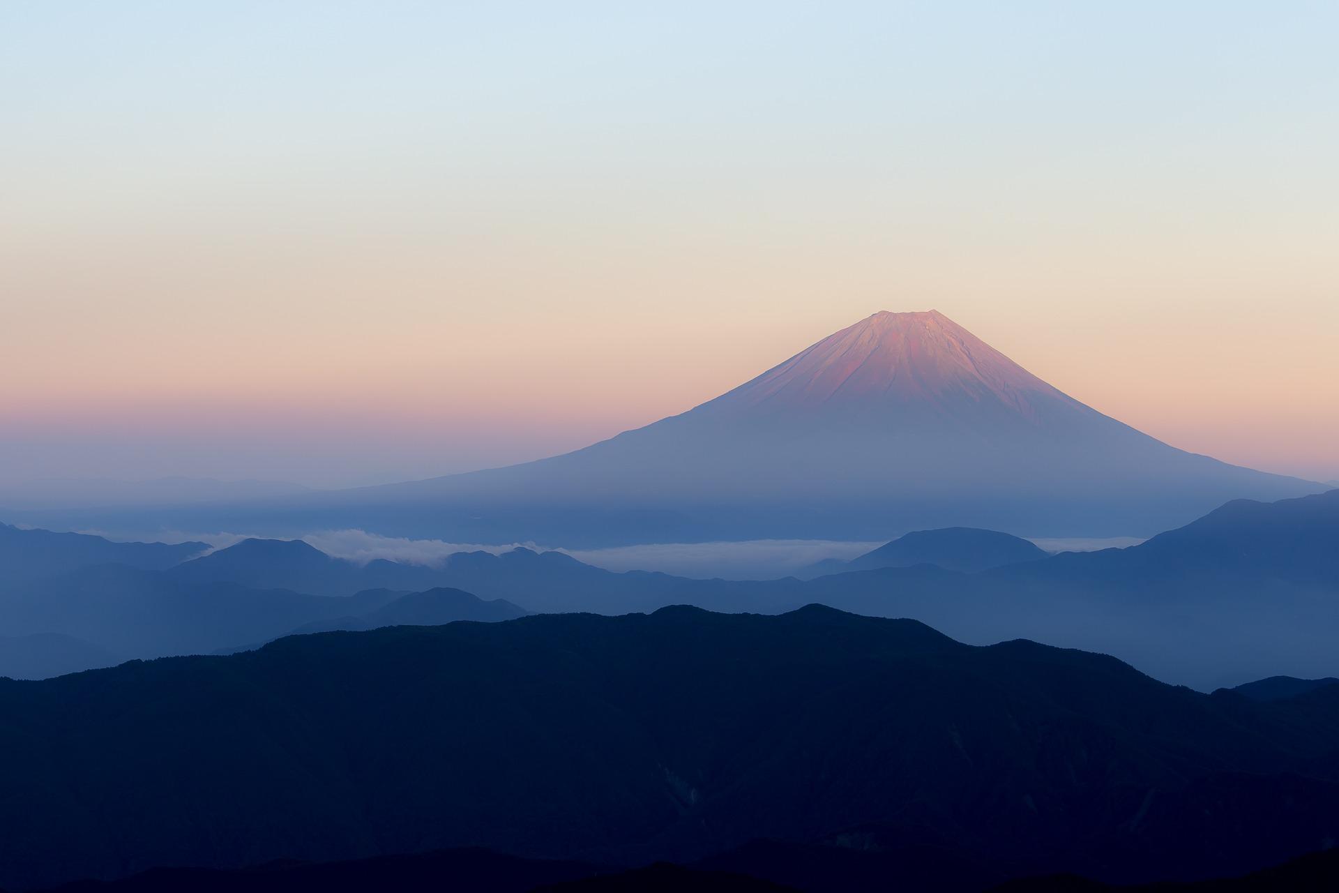 Monte Fuji viaje a china y japón