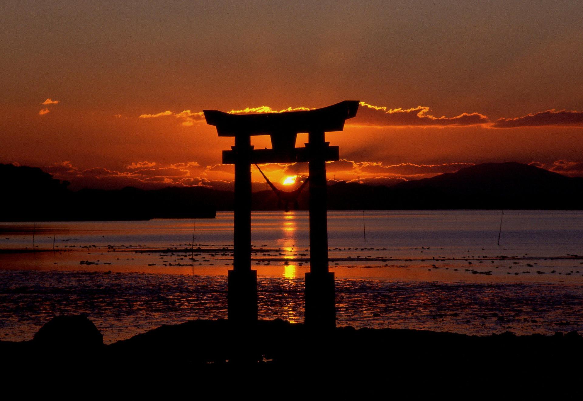 Viaje de novios espectacular Atardecer Japón Bali