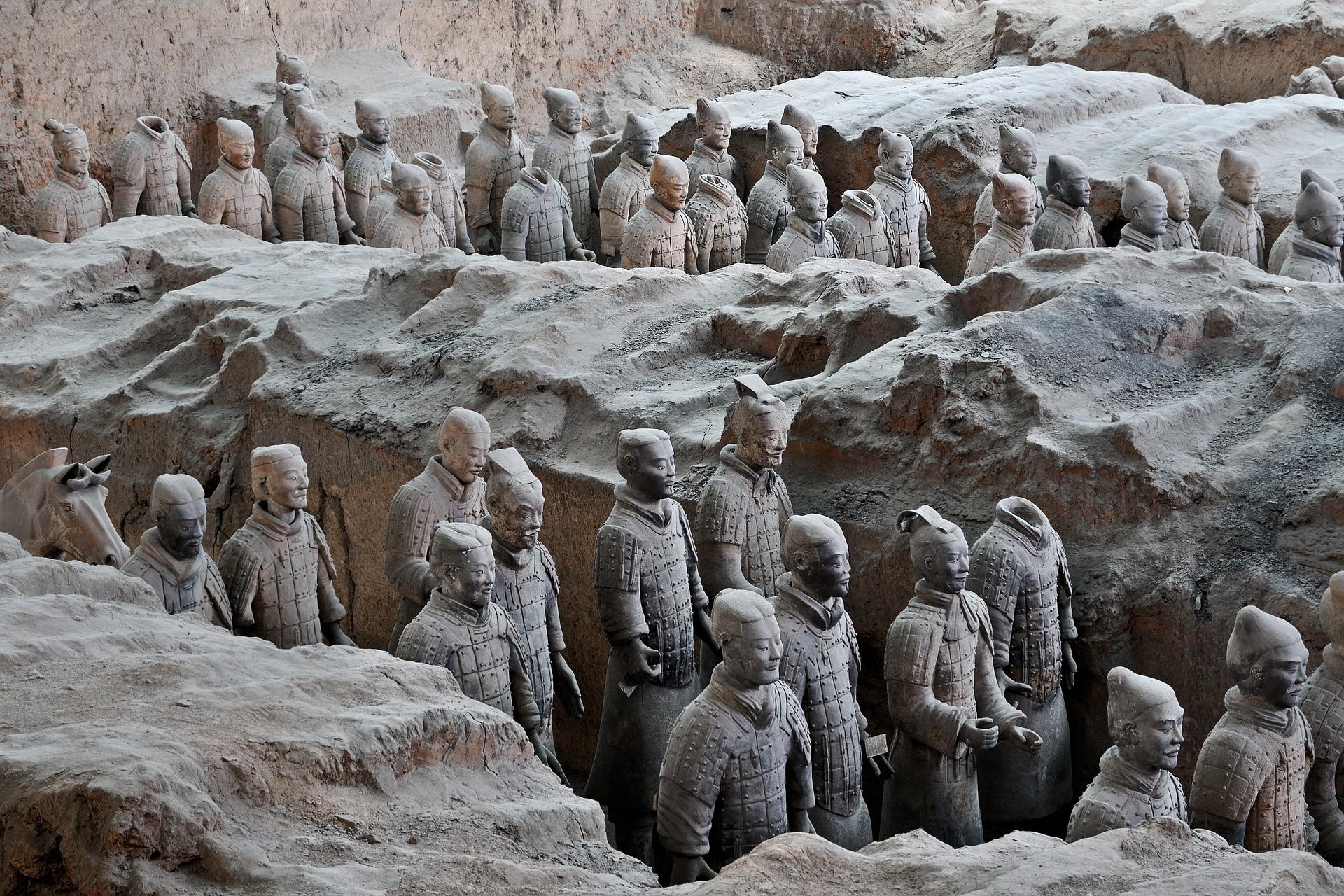 Ejercito de terracota Xian viaje a china y japón